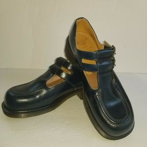 Dr Martens Womens Size 7 Double Strap Mary Janes